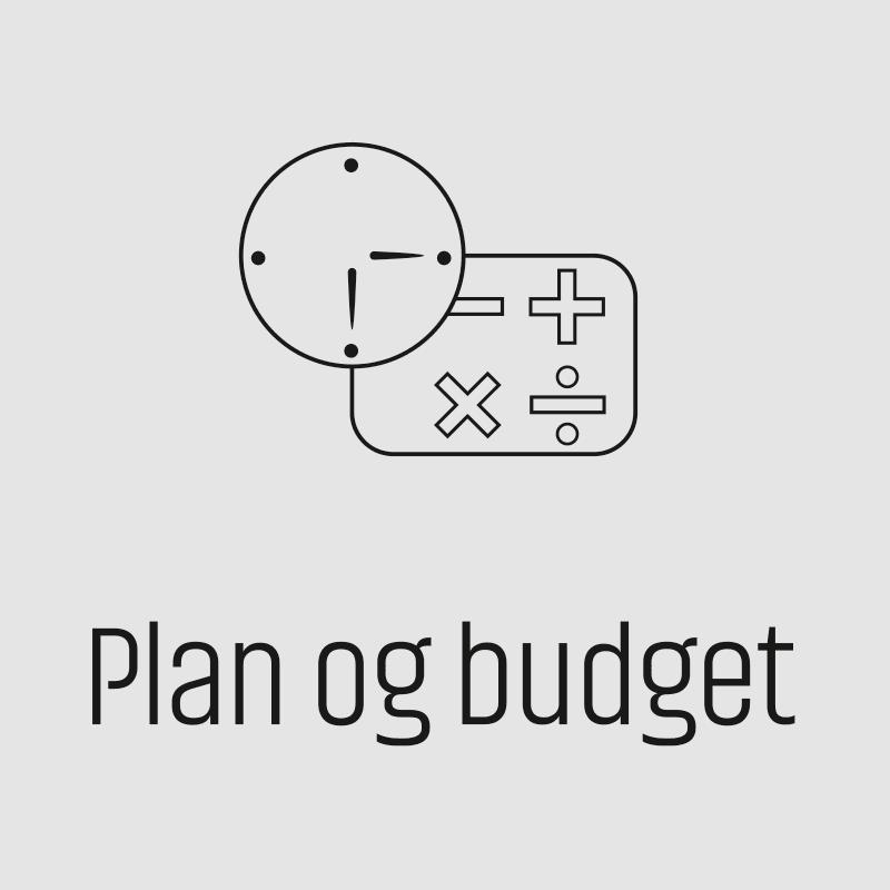 Plan og Budget
